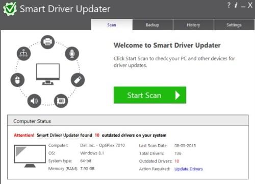 Smart Driver Updater 5.0.324 Crack + Keygen {WIN + MAC}