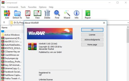 WinRAR 5.71 Crack + Registration Key 2019 [32/64 Bit]