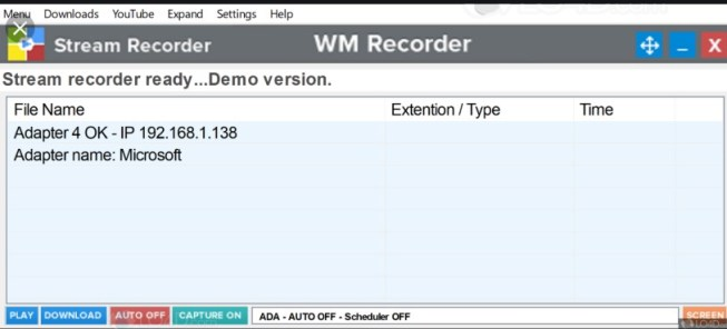 WM Recorder 16.8.1 Crack & Registration Code {Win + MAC}