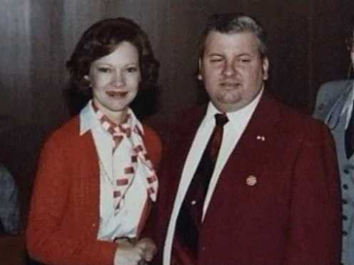 John Wayne Gacy meeting the First Lady