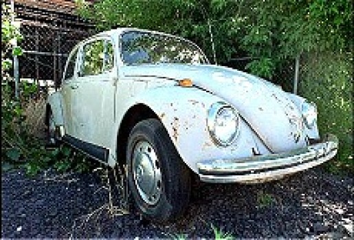 Ted Bundy Beetle serial killer wtfdetective.com wtf detective his car