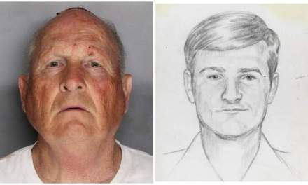 The Golden State Killer also known as the Original Night Stalker