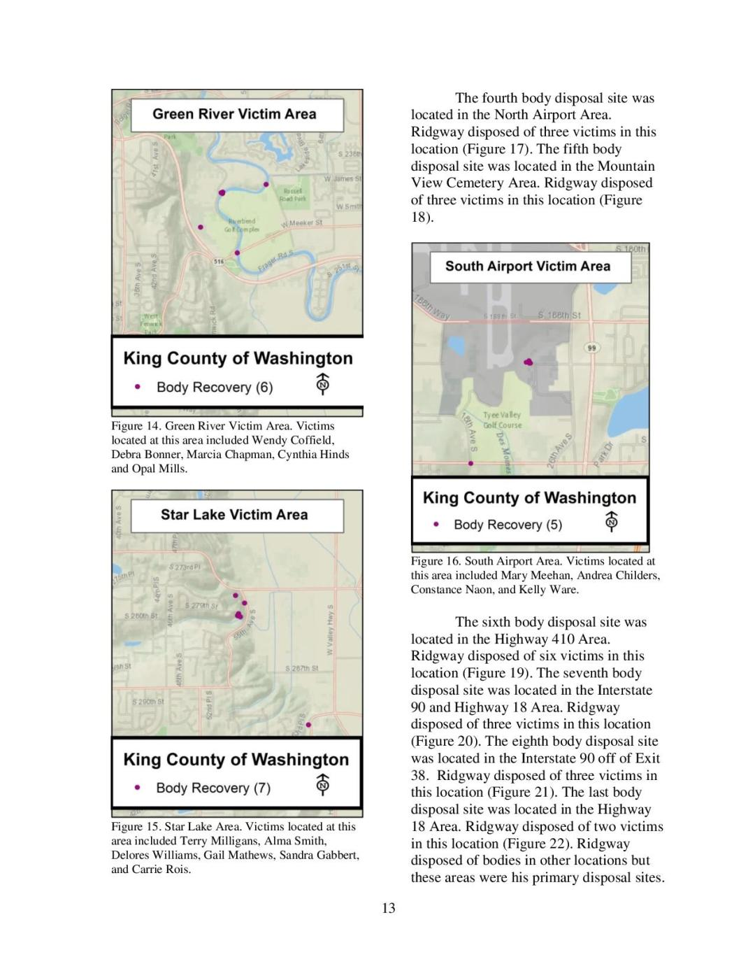 Gary Ridgway - Geographic Profiling Page 13
