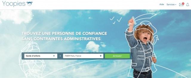 Home Page of Yoopies Screenshot