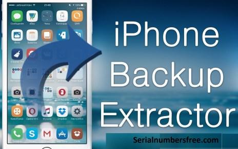 iPhone Backup Extractor 2020 Crack