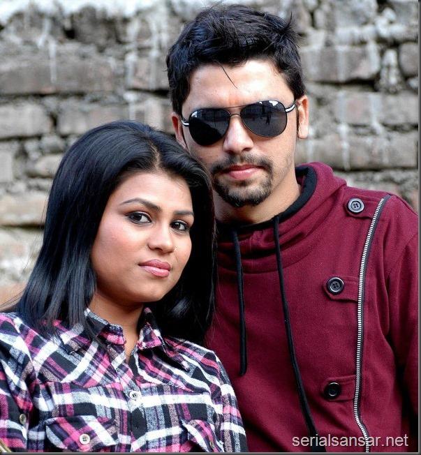sunita Gautam and her husband
