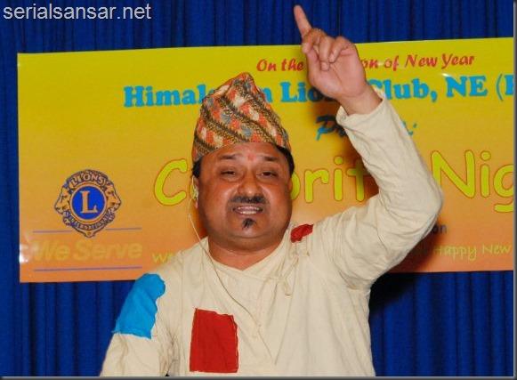 jitu nepal - stage show