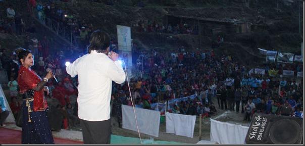 deepak raj giri and deepa shree niraula dhunchhe rasuwa clutural program