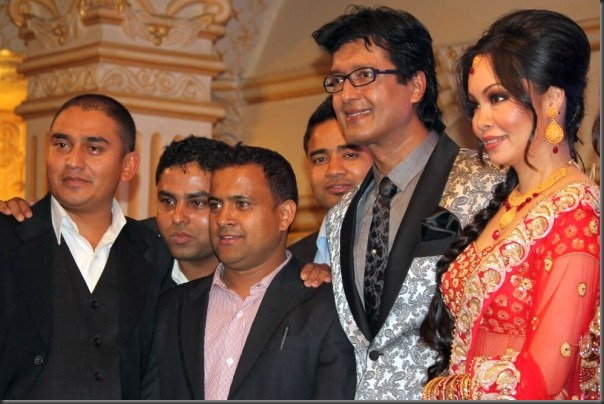 rajesh hamal with jitu nepal and sitaram kattel