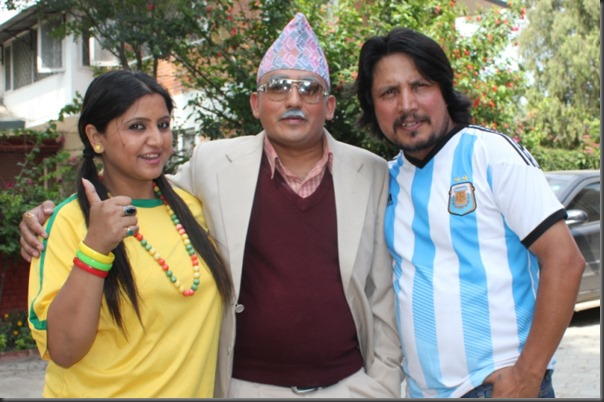 dhurmus with deepak raj giri and deepa shree niraula