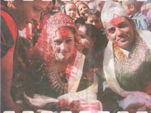 suntali and dhurmus marriage - marriage ceremony of sitaram kattel and kunjana ghimire