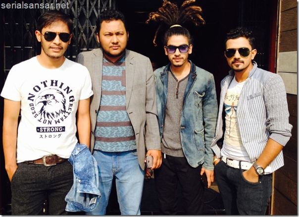 music video shooting bhadragol and prakash poudel