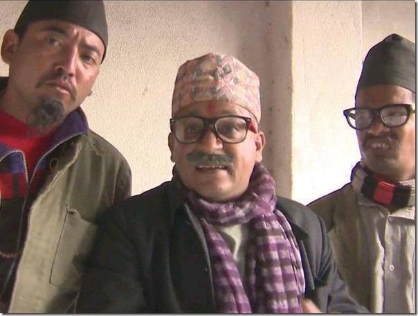 daman rupakheti in hakka hakki comedy serial