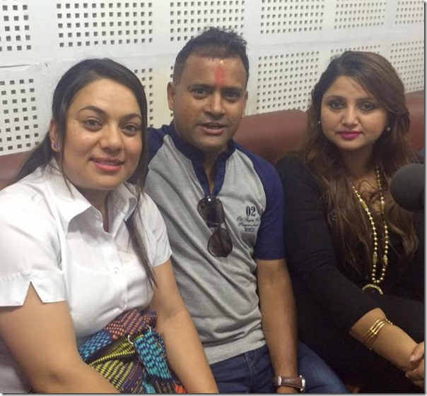 jitu nepal birthday at radio audio2
