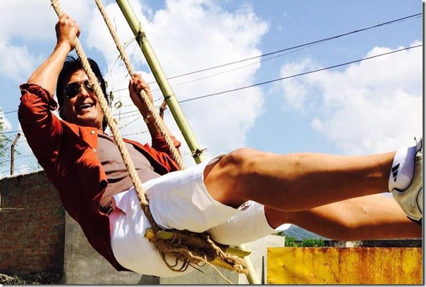 rajesh hamal in swing 2015