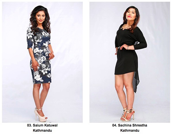 3 4 miss nepal Saium Katuwal and Sachina Shrestha