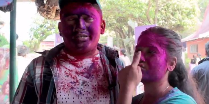 Dhurmus and Suntali Comedy Video (Holi 2016)