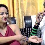 Actress Namrata Sapkota In Comedy Hostel Comedy Show
