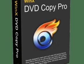 WinX DVD Copy Pro Crack & Serial Key