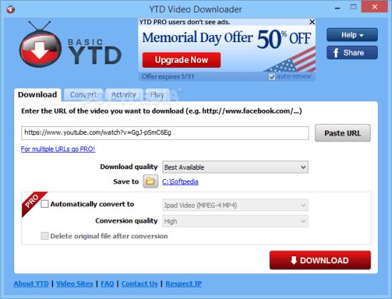YTD Video Downloader Full Crack