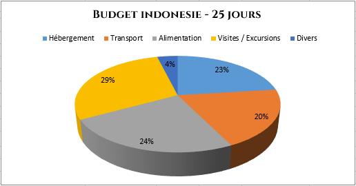 Graphiques dépenses budget indonésie