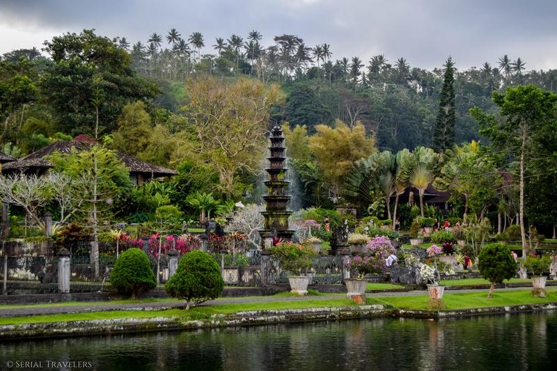 Le Water Palace de Tirta Gangga
