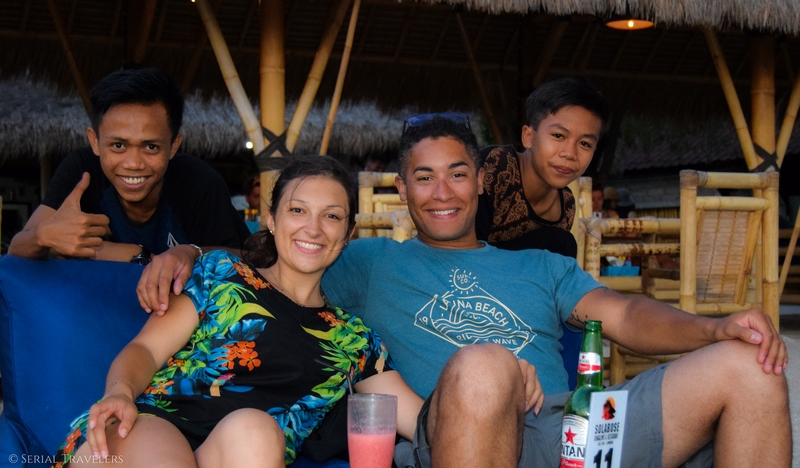 serial-travelers-gili air-lombok - indonesie - bali - friends