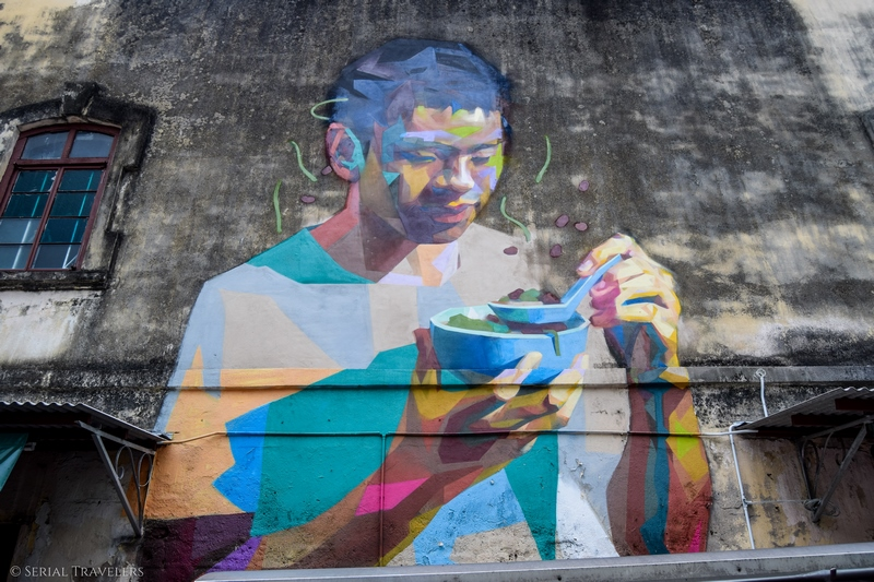 Où se trouvent les plus beaux street arts de Penang ?