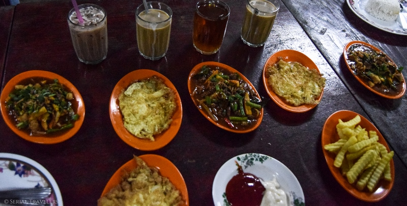 serial-travelers-malaisie-taman-negara-guesthouse-matleon-malaysian-food