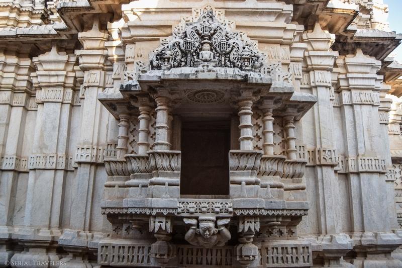 Le temple jaïn d'Adinath à Ranakpur