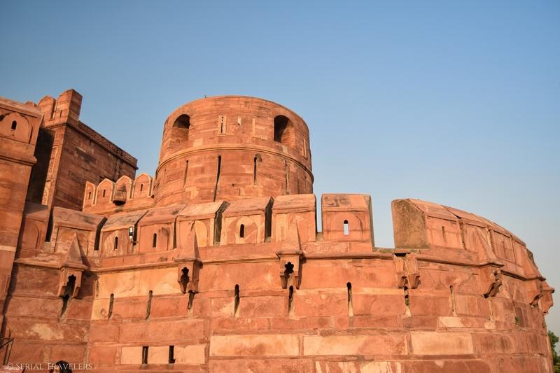 Agra, la porte d'entrée au Taj Mahal