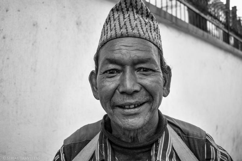 Arrivée au Népal
