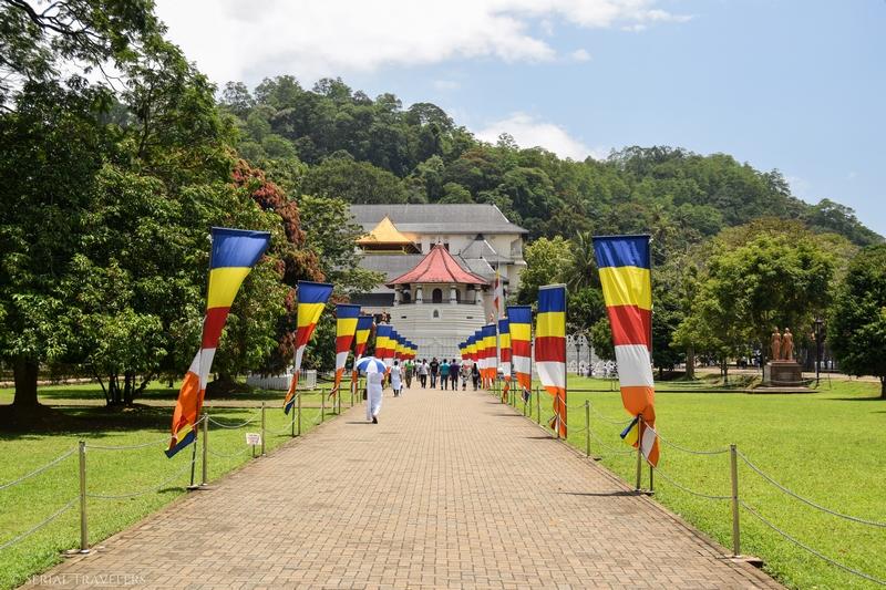 Kandy, la porte d'entrée du triangle culturel