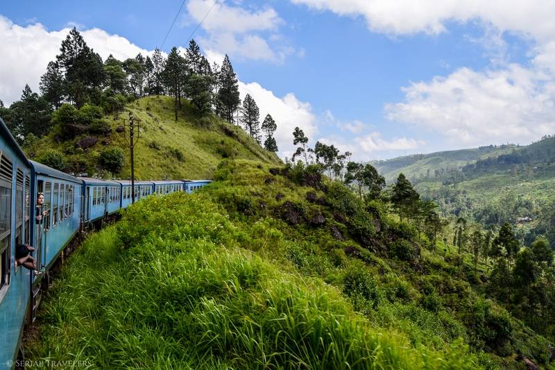 Kandy - Nuwara Eliya en train, le plus beau trajet du Sri Lanka