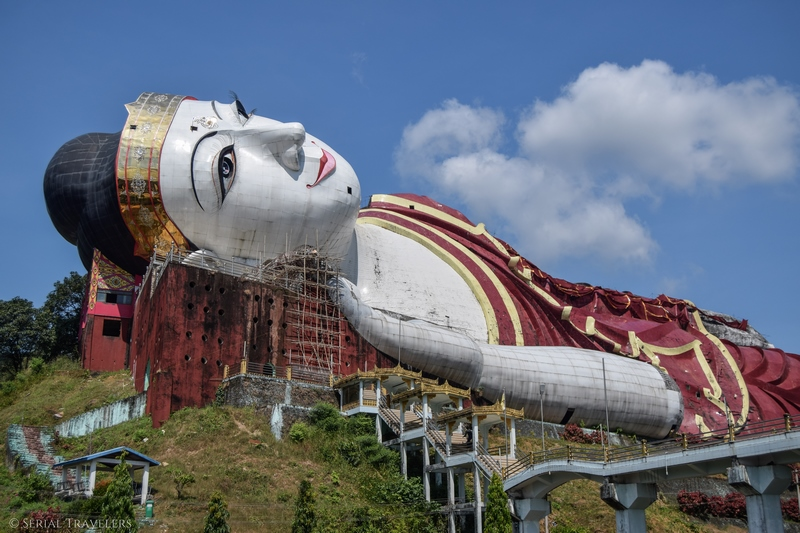 Mawlamyine et le plus grand Bouddha couché du monde!
