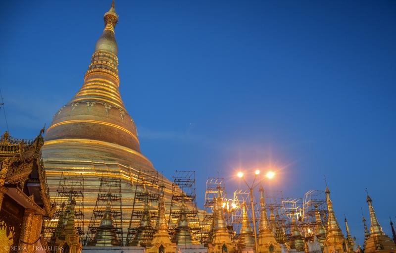 Shwedagon, la plus sacrée des pagodes de Birmanie !