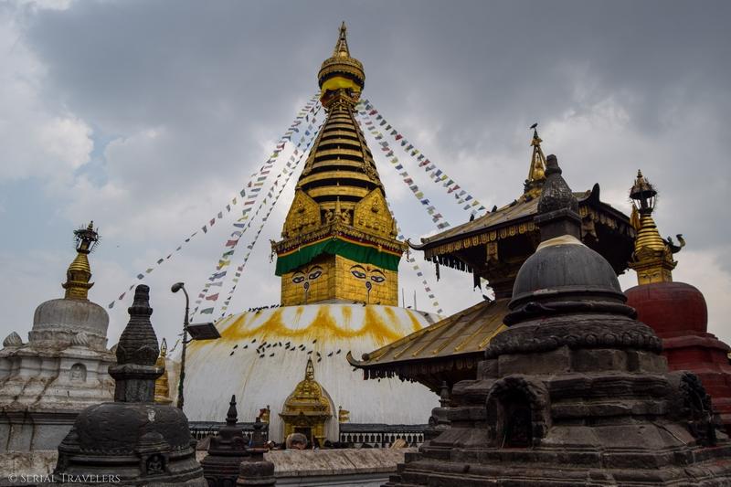 Le stupa de Swayambunath