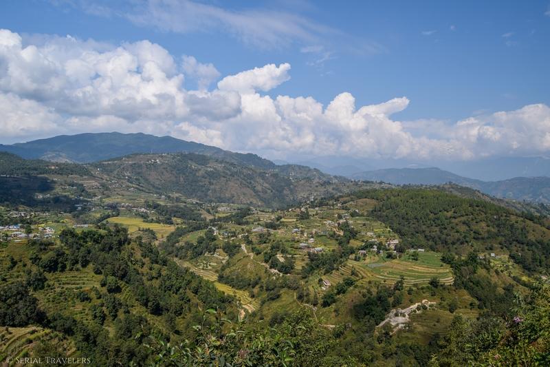 Nagarkot, la porte de l'Himalaya