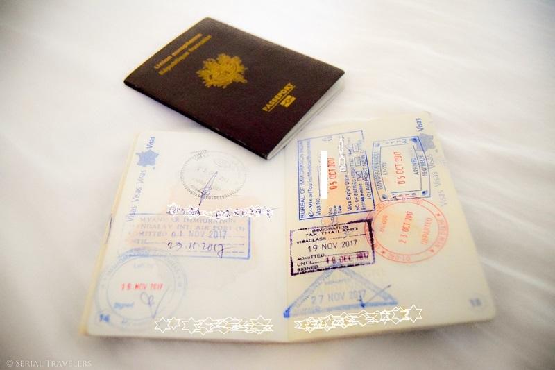Passage de la frontière Myanmar (Birmanie) - Thaïlande et arrivée à Chiang Mai