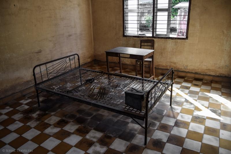Visite du musée du génocide cambodgien (Tuol Sleng ou S-21), la prison de l'horreur Khmer Rouge