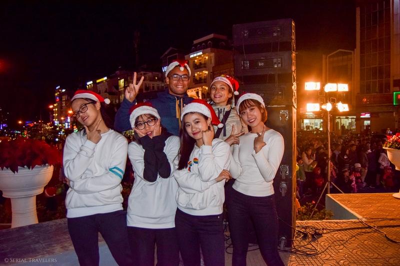 Noël sous le froid de Dalat