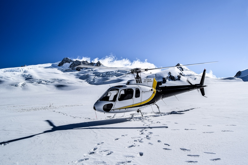 On a testé un survol en hélicoptère du glacier Franz Josef, le plus beau glacier de Nouvelle-Zélande !