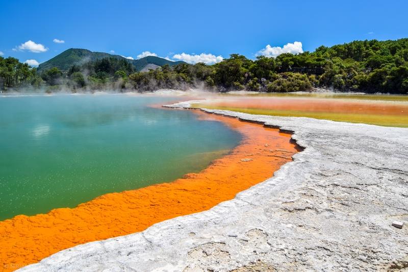 Wai-O-Tapu et ses paysages géothermiques incroyables !