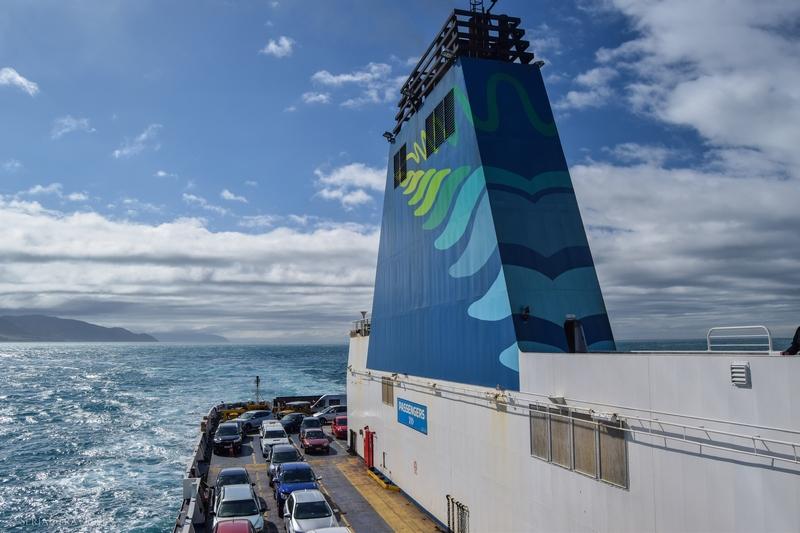 Traversée en ferry du Nord au Sud : de Wellington à Picton !