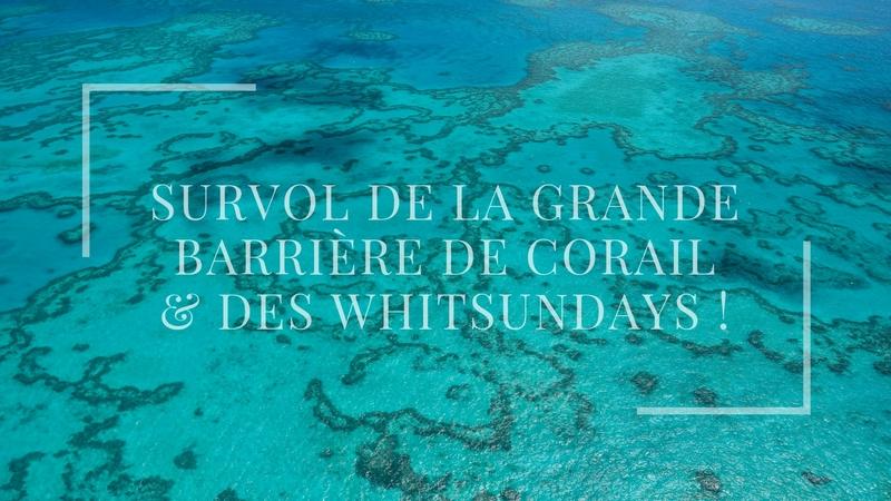 Survol de la Grande Barrière de Corail & des Whitsundays !