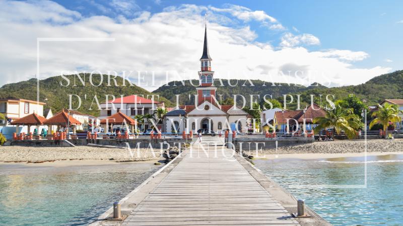 Snorkeling aux Anses-d'Arlet, l'un des plus beaux villages de Martinique !
