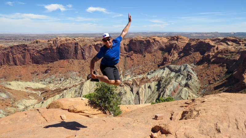 serial-travelers-ouest-americain-canyonlands-upheaval-dome-trail1