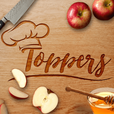 Toppers Marinate Branding