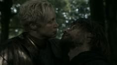 Brienne de Tarth y Jaime Lannister