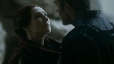 Melisandre y Stannis Baratheon